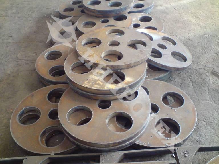 Фланци от листова стомана - 8мм до 120мм