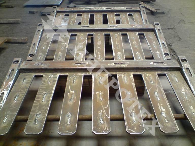 Скари за вибрационни сита и питатели от износоустойчива стомана