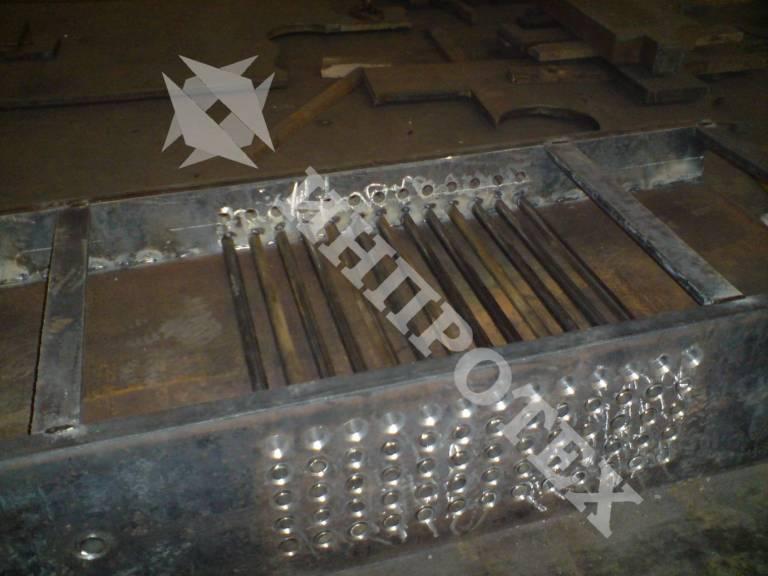 Стенд за опъване на струни за предварително напрегнати мостови греди по проект на ИНПРОТЕХ ООД