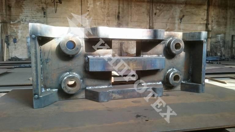 Изработка на буфер за минен локомотив по проект на МГУ